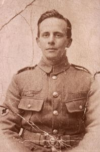 My grandfather, Frederick Hawkins - stretcher-bearer at the Somme